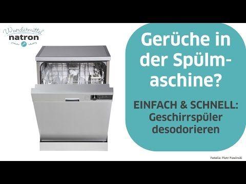 spülmaschine ökologisch reinigen