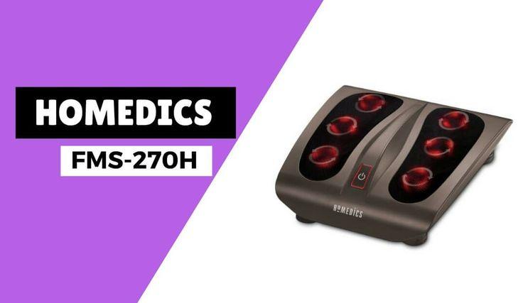 Homedics FMS-270H Deep Kneading Shiatsu Foot Massager