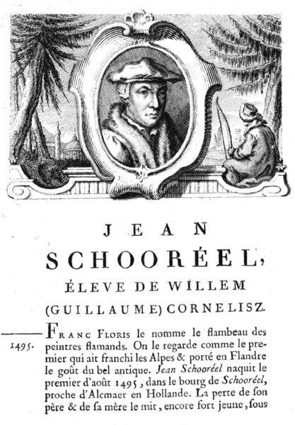 Ян ван Скорел (Jan van Scorel) (1495 - 1562) — Book 3 of 4-volume painter biographies by Jean-Baptiste Descamps