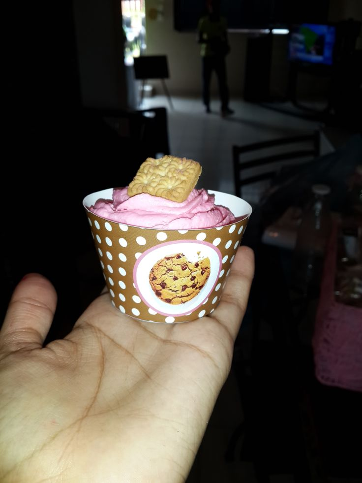 Designed and made these cupcake wrappers myself :-)