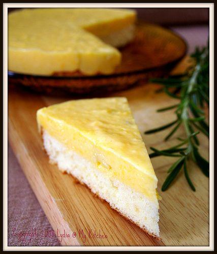 Durian Pudding Cake