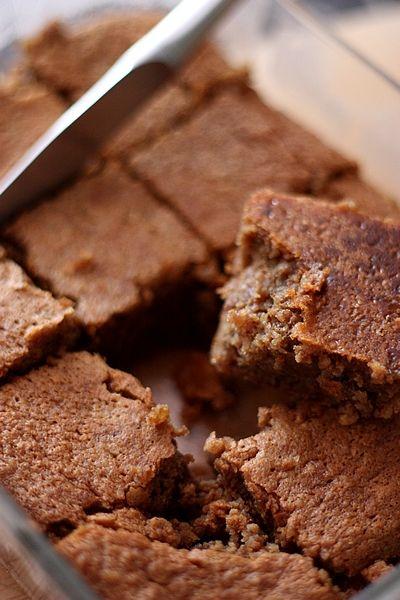 Un dessert à base de noix et de crème de marron, bien réconfortant !