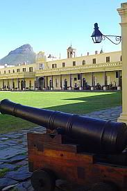 Cape Town Castle is a historic tourist attraction