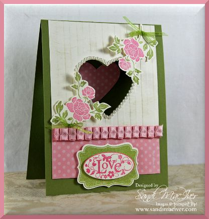 video on how to create this card  is here:http://stampingwithsandi.com/you-are-loved-stamp-set-by-stampin-up/Embossing Cards, Heart Open, Cards Ideas, Beautiful Cards, Valentine Cards, Stamps Sets, Cards Stamps Heart, Stampin Up Cards, Heart Cards