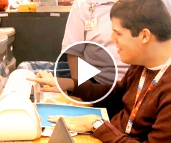 Learning Life Skills: Watch as students at Pennridge High School in Perkasie, PA put everyday skills to work in their classroom to prepare for jobs after graduation. www.advanceweb.com