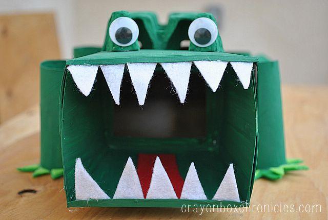 alligator affirmation box face