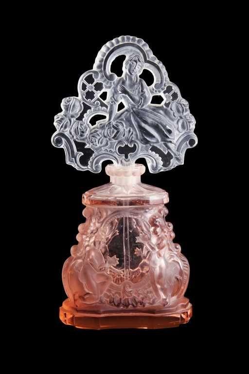 Lot: 1930s Czechoslovakian perfume bottle, Lot Number: 0096, Starting Bid: $250, Auctioneer: Perfume Bottles Auction, Auction: Perfume Bottles Auction, Date: April 29th, 2016 EDT