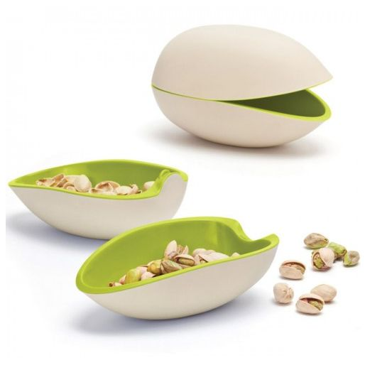 Pistachio-Shaped Pistachio Container