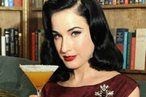 Dita Von Teese's food diary....luv how she shows that you can still be healthy while keeping some vices...all about moderation