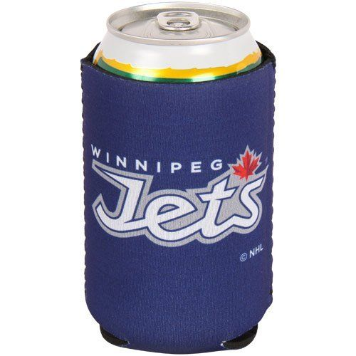 NHL Winnipeg Jets Collapsible Koozie by Kolder. $4.62. Screen print graphics. Neoprene construction. Officially licensed. Winnipeg Jets Collapsible Can Koozie. If you're the ultimate fan then show off your unwavering team spirit with this Winnipeg Jets Collapsible Can Koozie. Features neoprene construction and screen print team design.