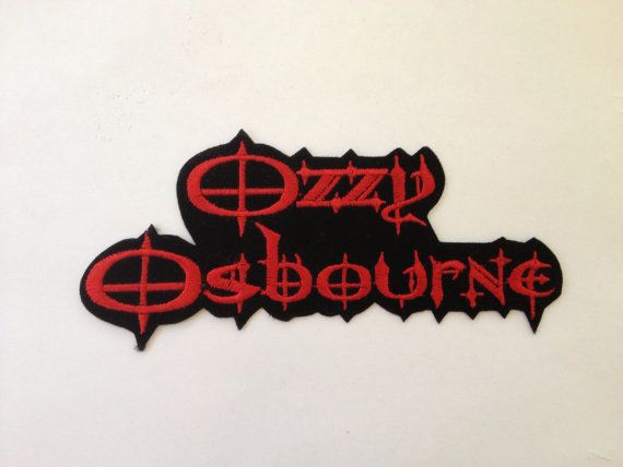 OZZY OSBURNE Patch Hard Rock Band Embroidered by Rocknsportstore, $6.99