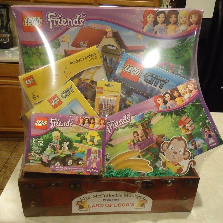 Classroom Theme Basket Ideas ~ Best lego basket images on pinterest auction ideas