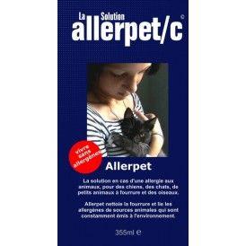 AllerPet, contre les allergies aux poils de chats - Petits secrets entre ALLERGIQUES