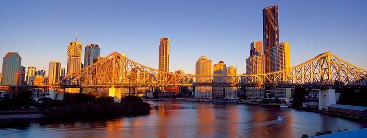 Magic shot of the Story Bridge, Brisbane, Australia - photo by Matt Lauder