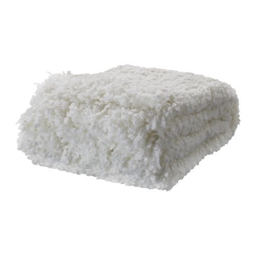 IKEA: Ofelia throw, white  $30  {love the fluffiness of this one!}