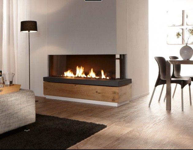 22 Ultra Modern Corner Fireplace Design Ideas - ArchitectureArtDesigns.com