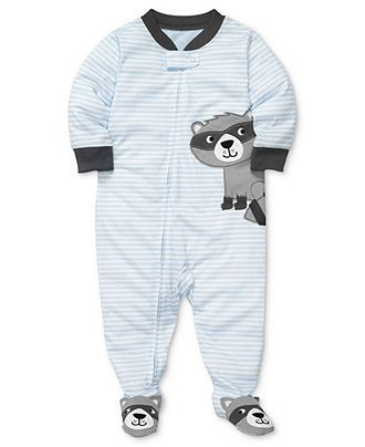 Carter's Baby Pajamas, Baby Boys Striped Coveralls - Kids Baby Boy (0-24 months) - Macy's