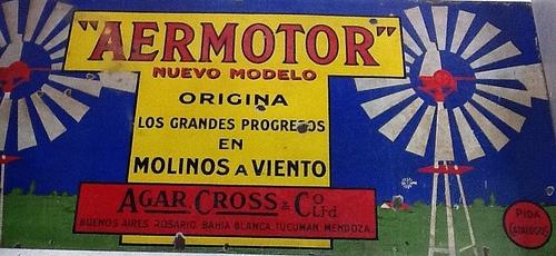 Letrero aermotor, Carroza Antiguedades