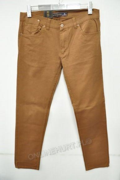 Spodnie Męskie Artista 1850  _E1 (30-38) rudy