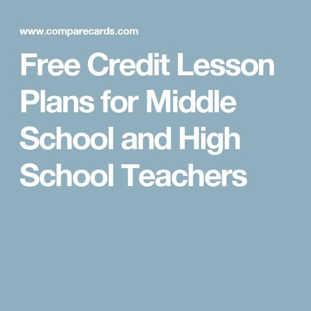 Best 25 free credit ideas on pinterest credit search free free credit lesson plans for middle school and high school teachers ccuart Images