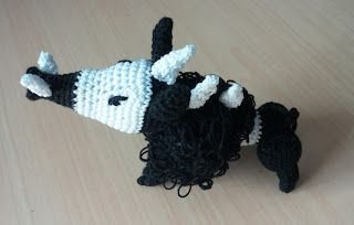 Targ Klingon Star Trek amigurumi crochet