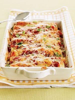 Turkey Enchiladas in 30 minutes!