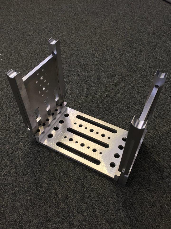 Aluminium tilt mount for Arri camera. Designed, cut and assembled in 2 days! #aluminiumcameramount #arricameramount #aluminiumrouting #rconcepts