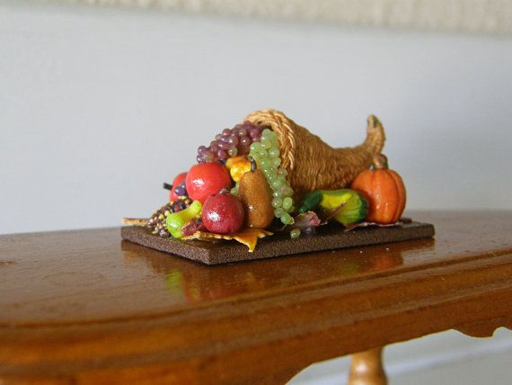 68 Best Thanksgiving In Miniature Images On Pinterest