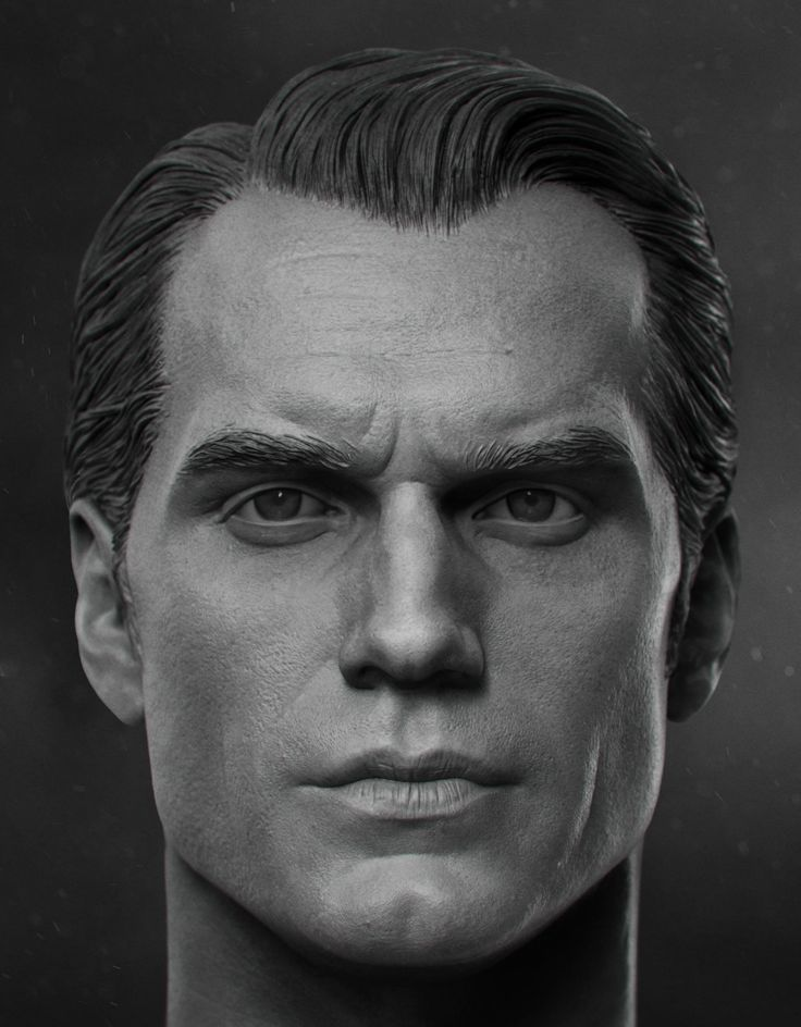 ArtStation - Henry Cavill - 1/6th Head Sculpt, vimal kerketta