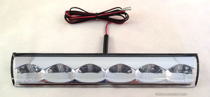 Truck cap  Leer Clear Third Brake Light LED # ATLED36R01R #AmericanTechnology