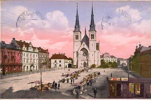 Ostrava Přívoz - náměstí
