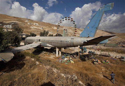 abandoned theme park  | Abandoned Palestinian amusement park | cleveland.com