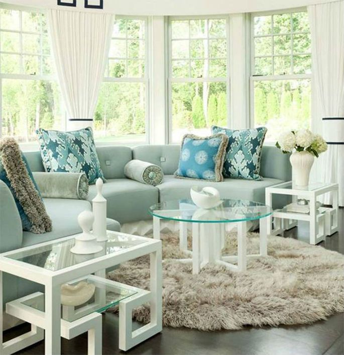 Round Contemporary Rugs For Luxury Interiors Rugs In Living Room