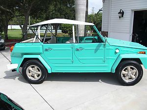 1974 VW Thing in Turquoise