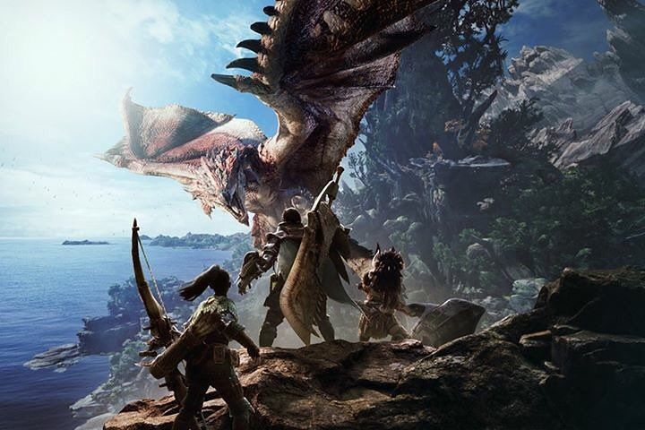 "Gefällt 272 Mal, 6 Kommentare - Monster Hunter (@monsterhunter) auf Instagram: ""Official art for Monster Hunter World for the PS4 and XBOX one early 2018 PC version coming at a…"""