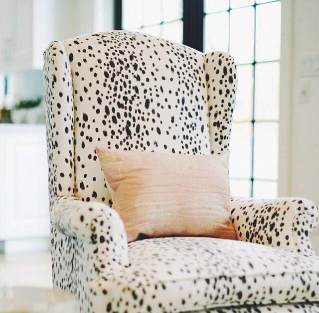 Snow Leopard Chair