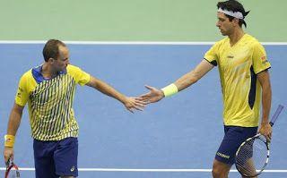 Blog Esportivo do Suíço:  Melo e Soares levam virada e Brasil fica na segunda divisão da Copa Davis