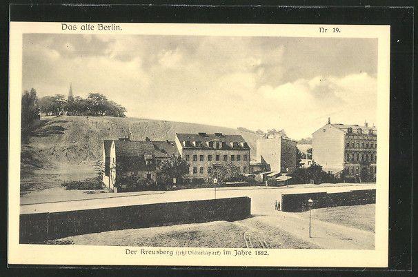 Berlin: Der Kreuzberg, jetzt Viktoriapark, 1882