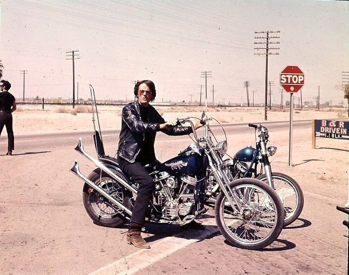 Peter Fonda's cool bike from The Wild Angels. Much better than the Catain America bike from Easy Rider in my opinion.