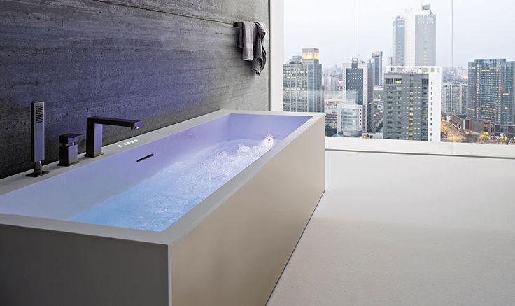 ... tub + view