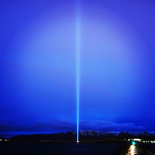 ...above us only sky... send your #wish to #imaginepeacetower in the comments below