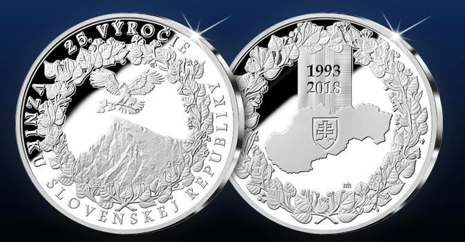 Prekrásna medaila venovaná  25. výročiu vzniku samostatnej Slovenskej republiky bola vyrazená do rýdzeho striebra 999/1000 v najvyššej kvalite razby - špeciálnym lešteným razidlom. Numizmat predstavuje unikátnu spomienku na udalosť, ktorá je jednou z najvýznamnejších v histórii Slovenska.