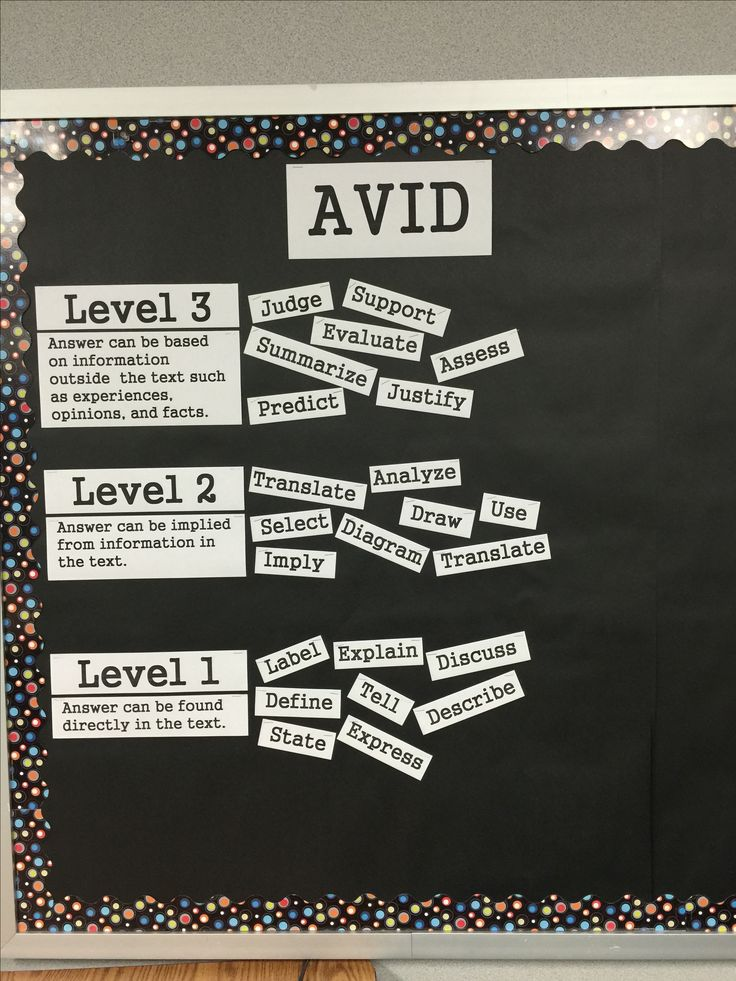 Costa's Levels Vocabulary Bulletin Board