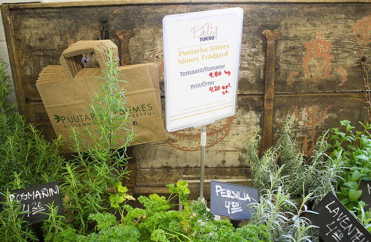 Deli Tukku, Herbs #visitsouthcoastfinland #raasepori #Finland #delitukku #herbs #food