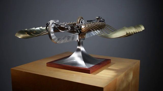 Fantastic Kinetic Sculptures By Bob Potts Bobs Gifs And Kinetic Art - Mechanical kinetic sculptures bob potts inspired animals