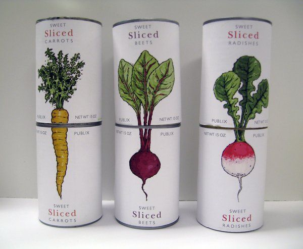 Canned food design by ~aklaes o
