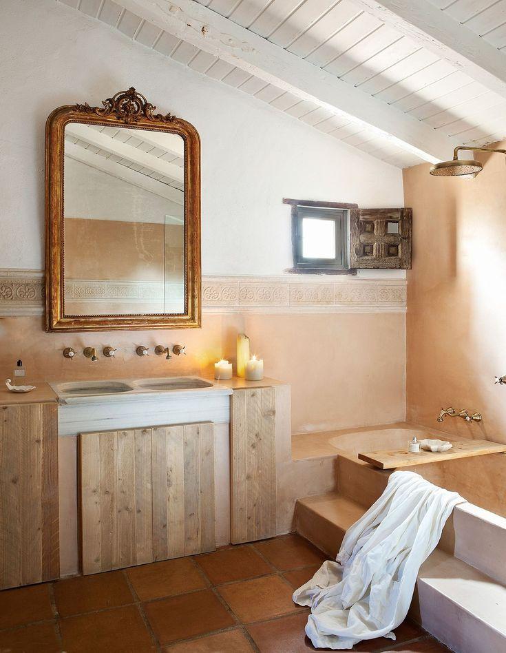 ¿Quieres un baño moderno y cálido a la vez? Mira estos ...