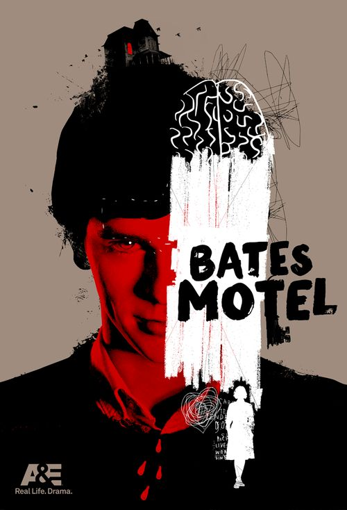 Bates Motel - 7 POSTERS / 7 DAYS — Laz Marquez #BatesMotel