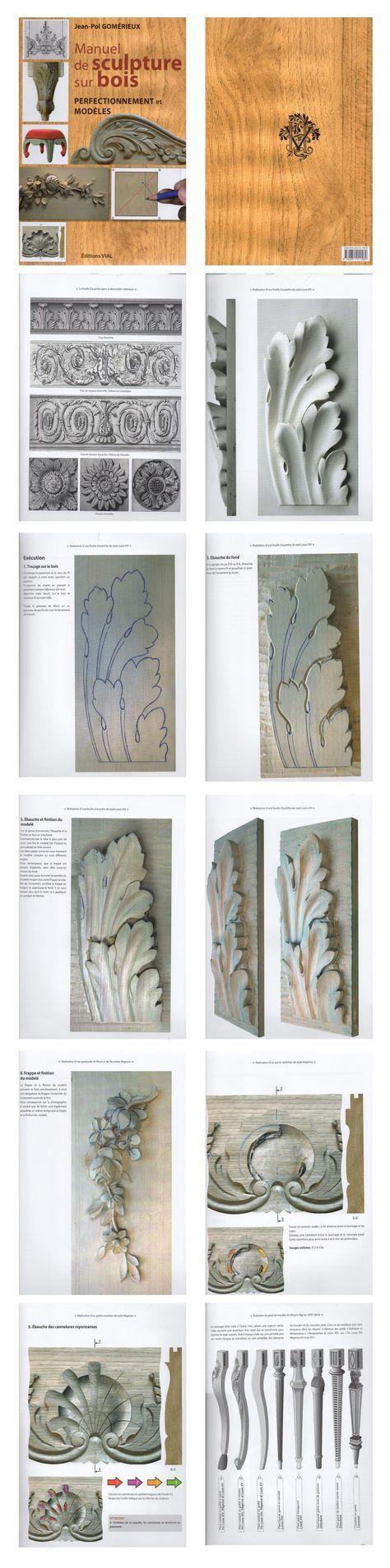 Manuel De Sculpture Sur Bois by Jean-Pol Gomerieux