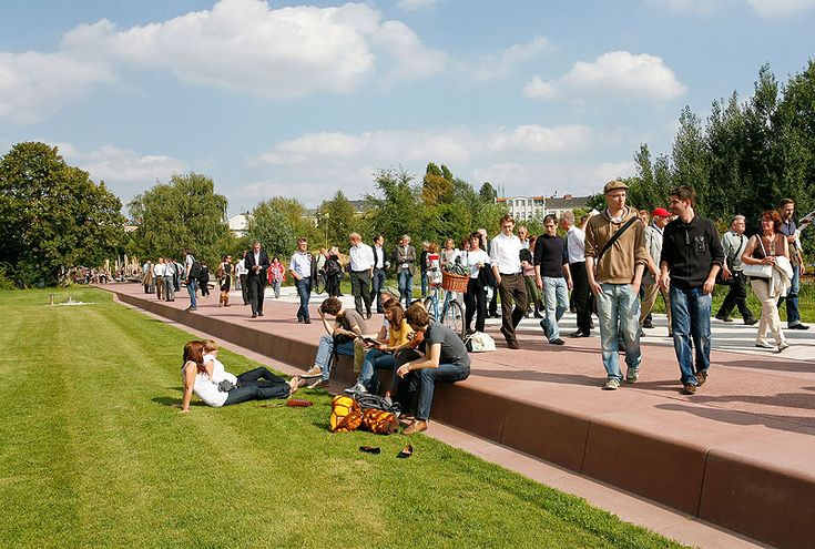 Gleisdreieckpark Berlin- Impressionen von Hartmut Becker